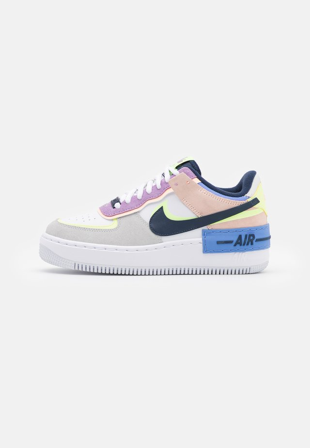 AIR FORCE 1 SHADOW - Trainers - photon dust/royal pulse/barely volt/crimson tint/violet star/midnight navy
