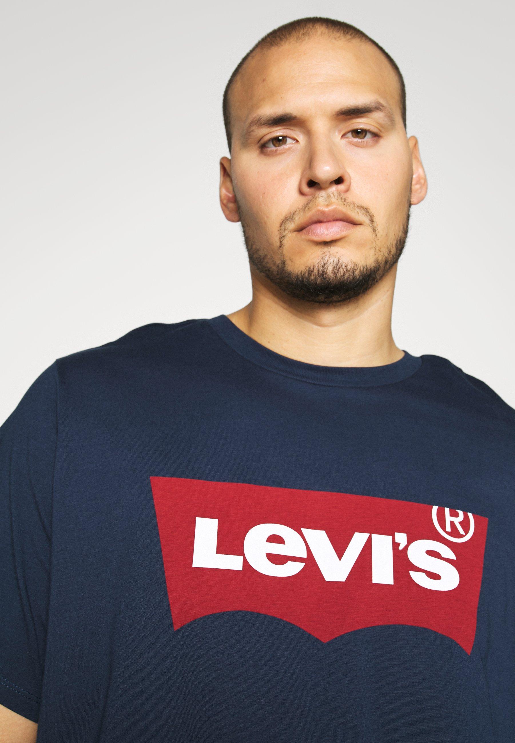 Levi's® Plus Big Graphic Tee - T-shirts Med Print Dress Blues/mørkeblå