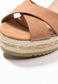 Refresh - High heeled sandals - camel - 2