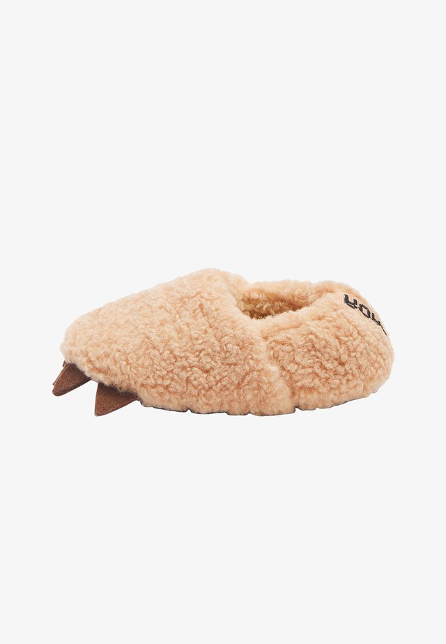 Slippers - brown