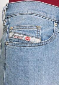 Diesel - D-LUSTER - Slim fit jeans - light blue - 3
