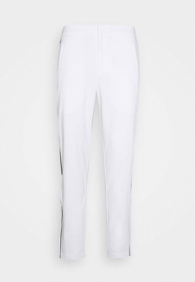 OLYMP TRACK PANT - Trainingsbroek - white/navy blue