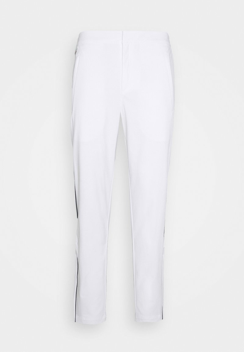 Lacoste Sport - OLYMP TRACK PANT - Trainingsbroek - white/navy blue