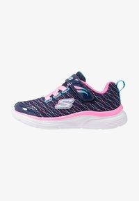 Skechers - WAVY LITES - Sneaker low - navy/pink/multicolor - 1