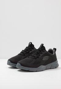 Skechers Sport - EQUALIZER 4.0 - Sneaker low - black/hot melt/charcoal - 2