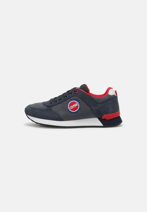 TRAVIS COLORS BOOST - Trainers - navy/red