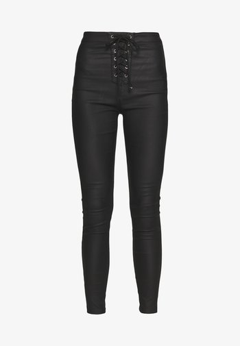 VICE COATED - Jeans Skinny - black