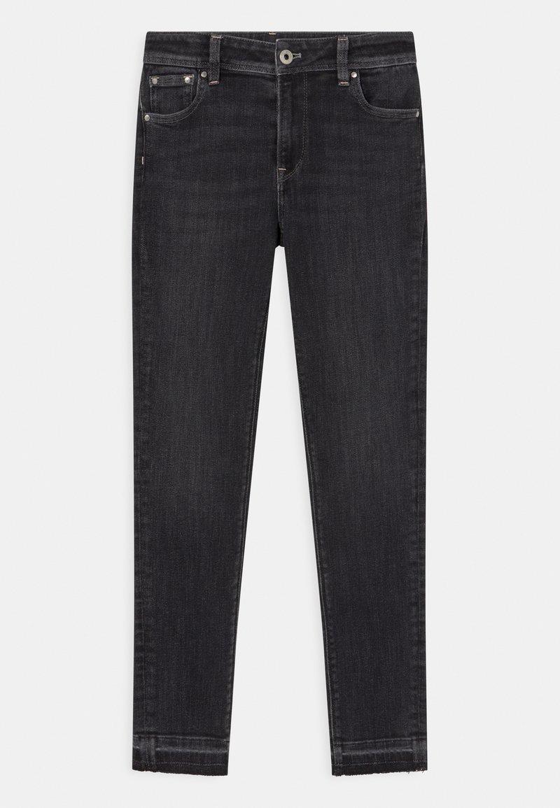 Pepe Jeans - PIXLETTE HIGH - Jeans Skinny Fit - black denim