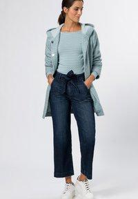 zero - Straight leg jeans - mid blue authentic wash - 1