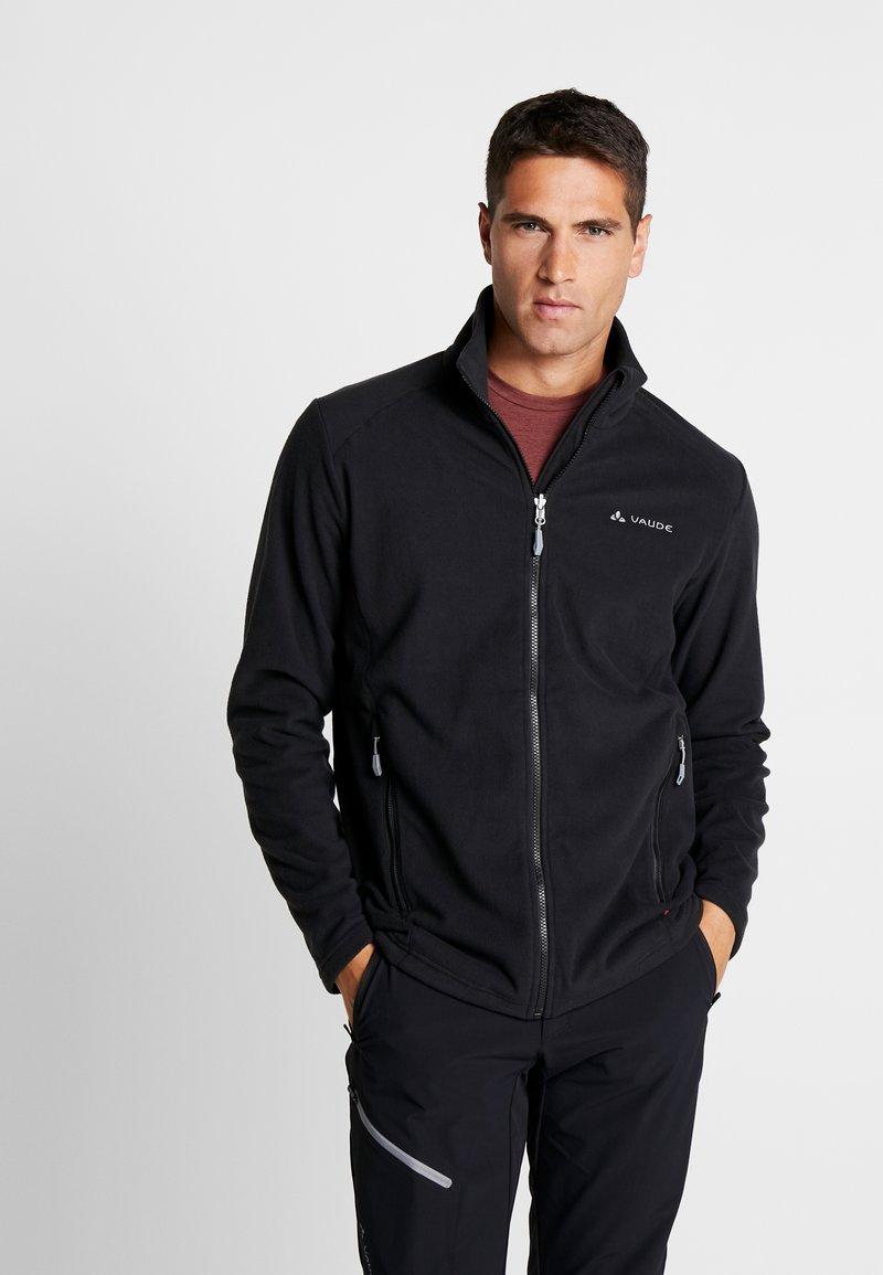 Vaude - MENS ROSEMOOR JACKET - Fleece jacket - black