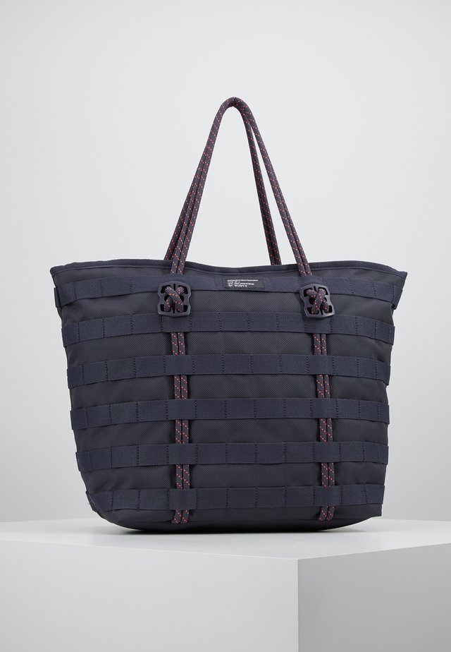 TOTE - Shopping bag - gridiron/bright crimson/white