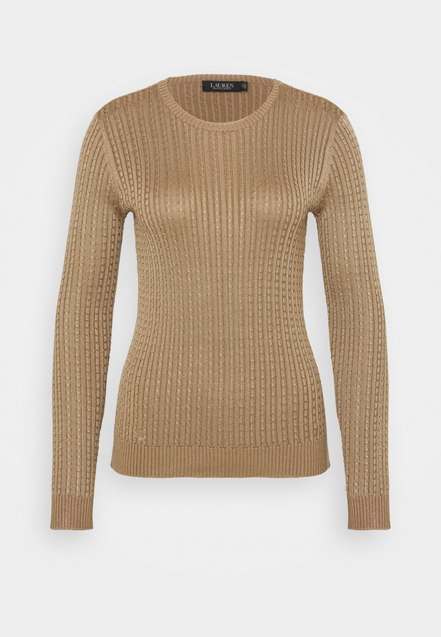 BRIGHT - Sweter - classic camel