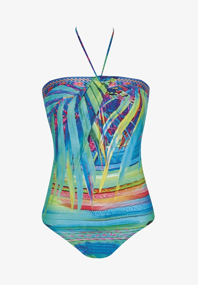 TROPICAL DREAM - Swimsuit - turquoise