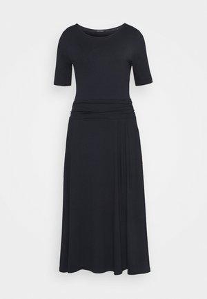 DRESS SHORT SLEEVE - Jersey dress - midnight blue