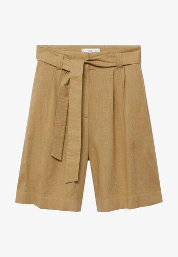 ELLA - Shorts - middenbruin