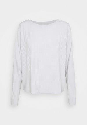 V-WIDE CREW - Pyjama top - trek grey