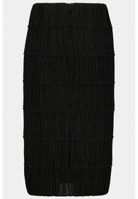 Ulla Popken - A-line skirt - black - 4