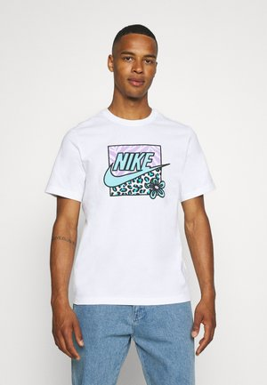 TEE HIGH SUMMER - T-shirt med print - white