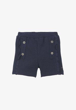 STRUKTURIERTE  - Shorts - black iris blue