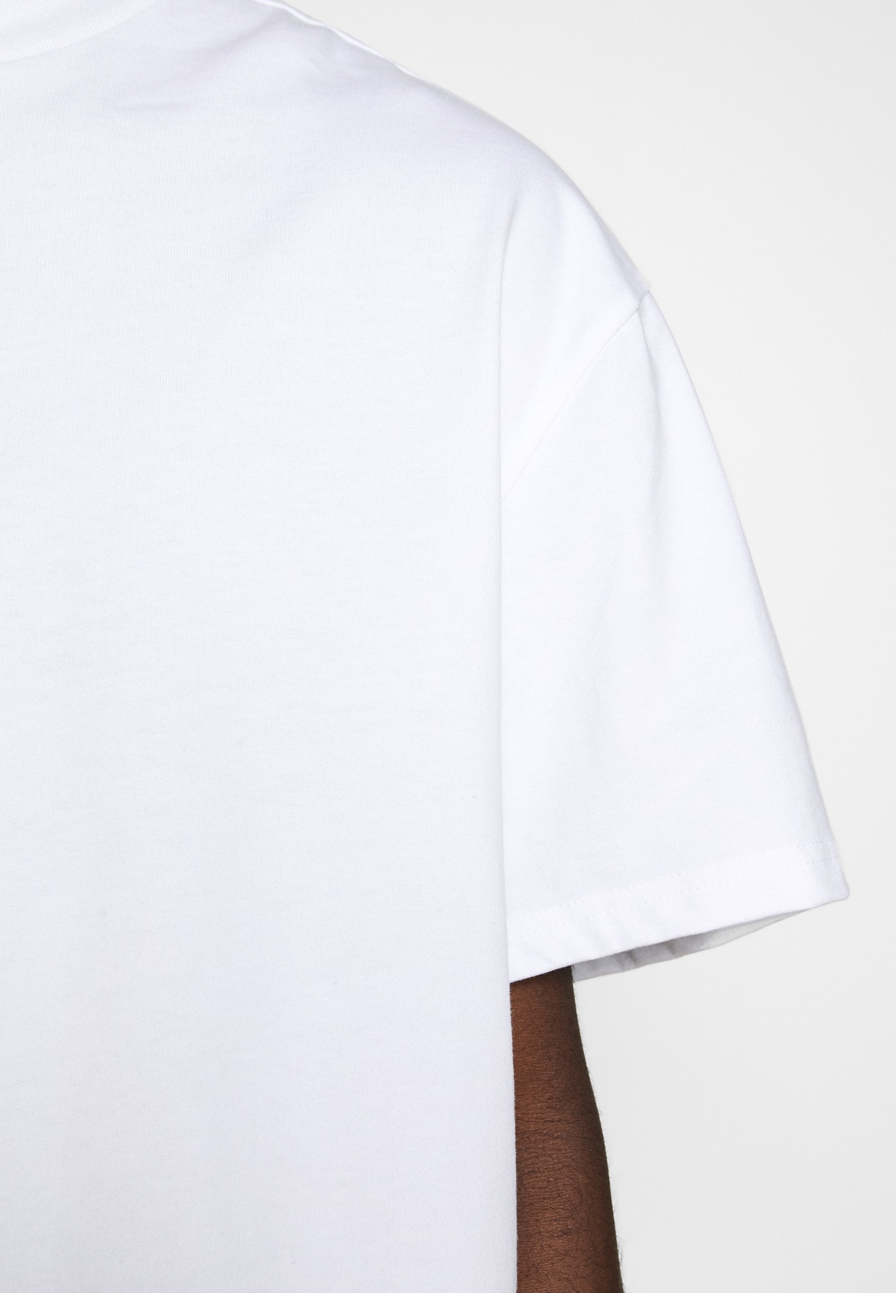 Weekday GREAT - Basic T-shirt - white LTbc7