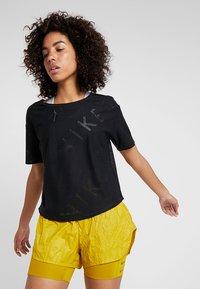 Nike Performance - AIR - T-Shirt basic - black - 0