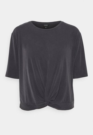 OTILIA - Basic T-shirt - black