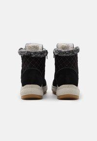 Rieker - Snowboots  - schwarz/anthrazit - 3