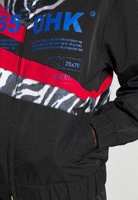 Han Kjøbenhavn - ANIMAL PRINT TRACK - Summer jacket - black - 5