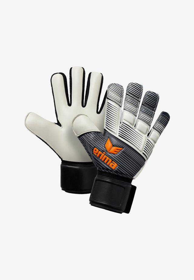 SKINATOR HYBRID  - Goalkeeping gloves - schwarzweissorange