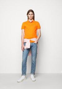 Polo Ralph Lauren - SHORT SLEEVE KNIT - Poloshirt - orange - 1