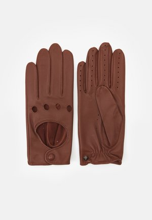 YOUNG DRIVER - Gloves - cognac