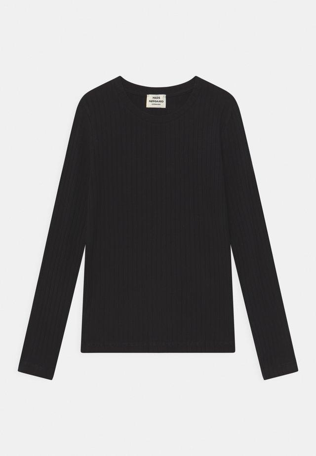 SOLID TALIKA - Langarmshirt - black