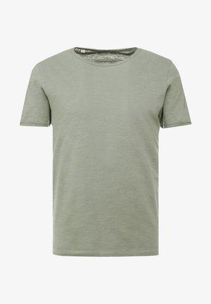 SLHMORGAN O-NECK TEE - T-shirt basic - sea spray
