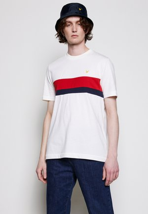 CUT AND SEW RELAXED FIT - T-shirt med print - vanilla ice