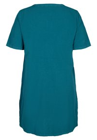 Zizzi - JHELLE - Shirt dress - petrol - 4