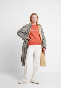 Calvin Klein - CORE LOGO - Sweatshirt - brown - 1