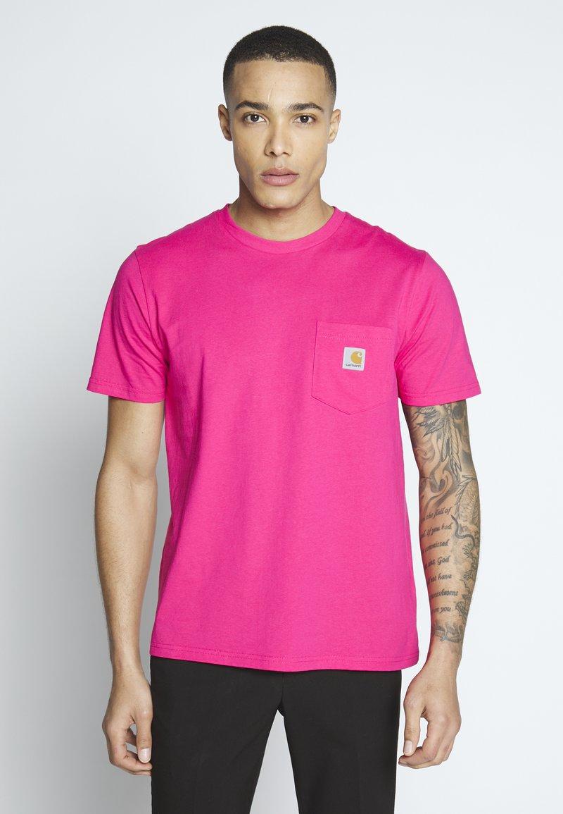 Carhartt WIP - Basic T-shirt - ruby pink