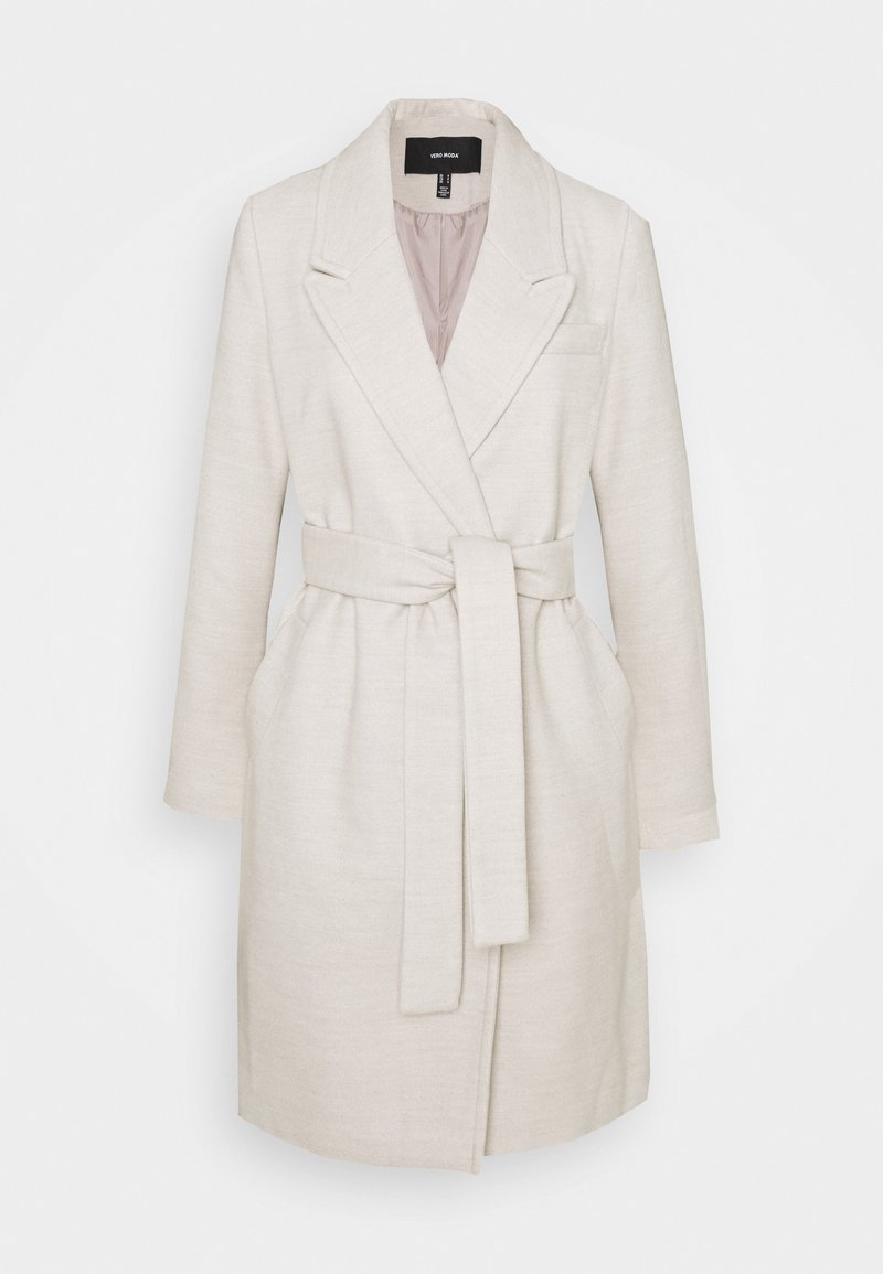 Vero Moda - VMCALAHOPE JACKET - Short coat - birch melange
