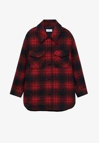Mango - BLANCH - Skjorte - rojo - 5