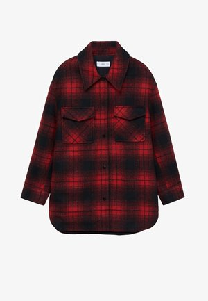 BLANCH - Button-down blouse - rojo