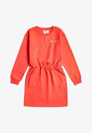 Jersey dress - hibiscus