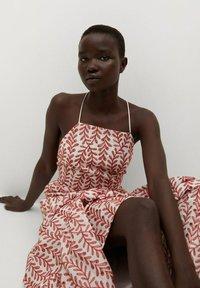 Mango - Maxi dress - rouge - 4