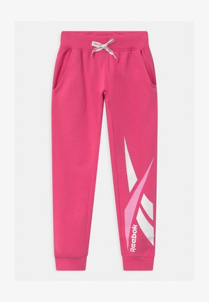 VECTOR - Tracksuit bottoms - shock pink