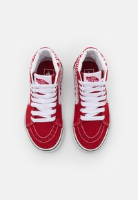 Vans - SK8 UNISEX - High-top trainers - chili pepper/racing red - 3