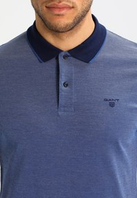 GANT - OXFORD RUGGER - Polo - persian blue - 3