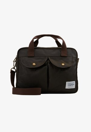 LONGTHORPE LAPTOP - Briefcase - olive