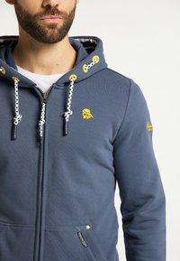 Schmuddelwedda - Zip-up hoodie - rauch marine - 3