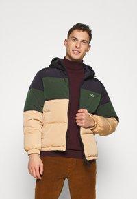 Lacoste - Down jacket - viennese/viennese-sinople-abysm - 0