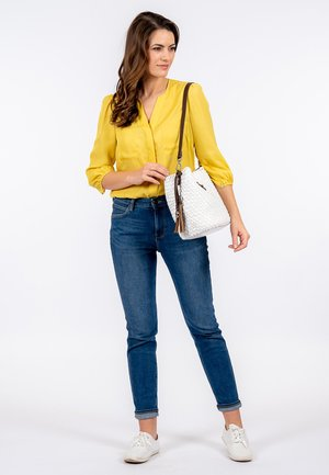ELFRIEDE  - Handbag - white