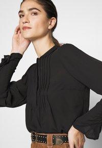 Selected Femme - SLFLIVIA - Blouse - black - 4